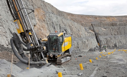 Open Pit Mining Drill
