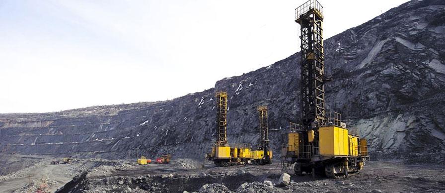 Open Pit Mine Drill